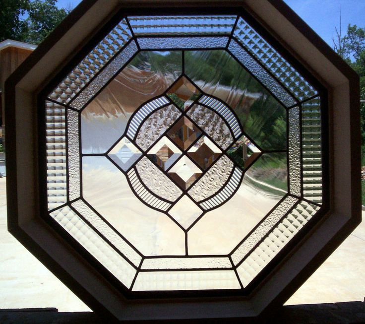 Octagon Anderson Stained Glass Windows | glasses ...
