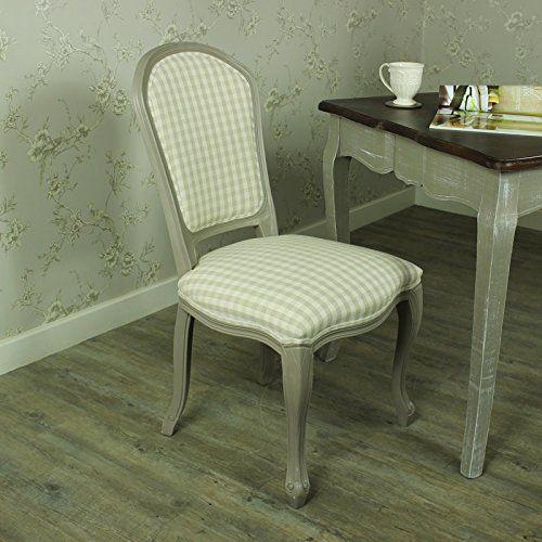 Beige Stühle grau stuhl mit kariert beige gepolsterte stühlen grau range
