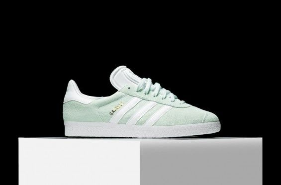 ADIDAS GAZELLE MINT 1 | shu | Adidas gazelle, Adidas, Adidas