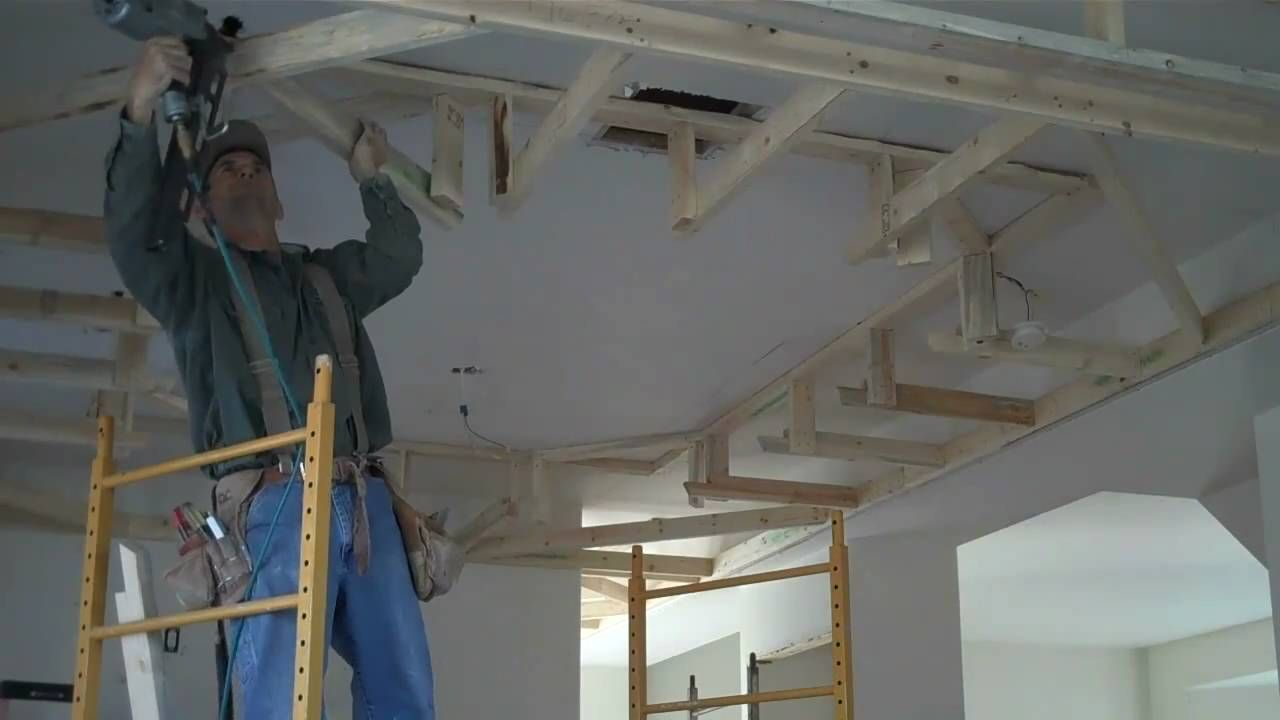 gallery drop ceiling decorating ideas. Howto Frame Drop Box Ceilings Home Renovation Tips Gallery Ceiling Decorating Ideas