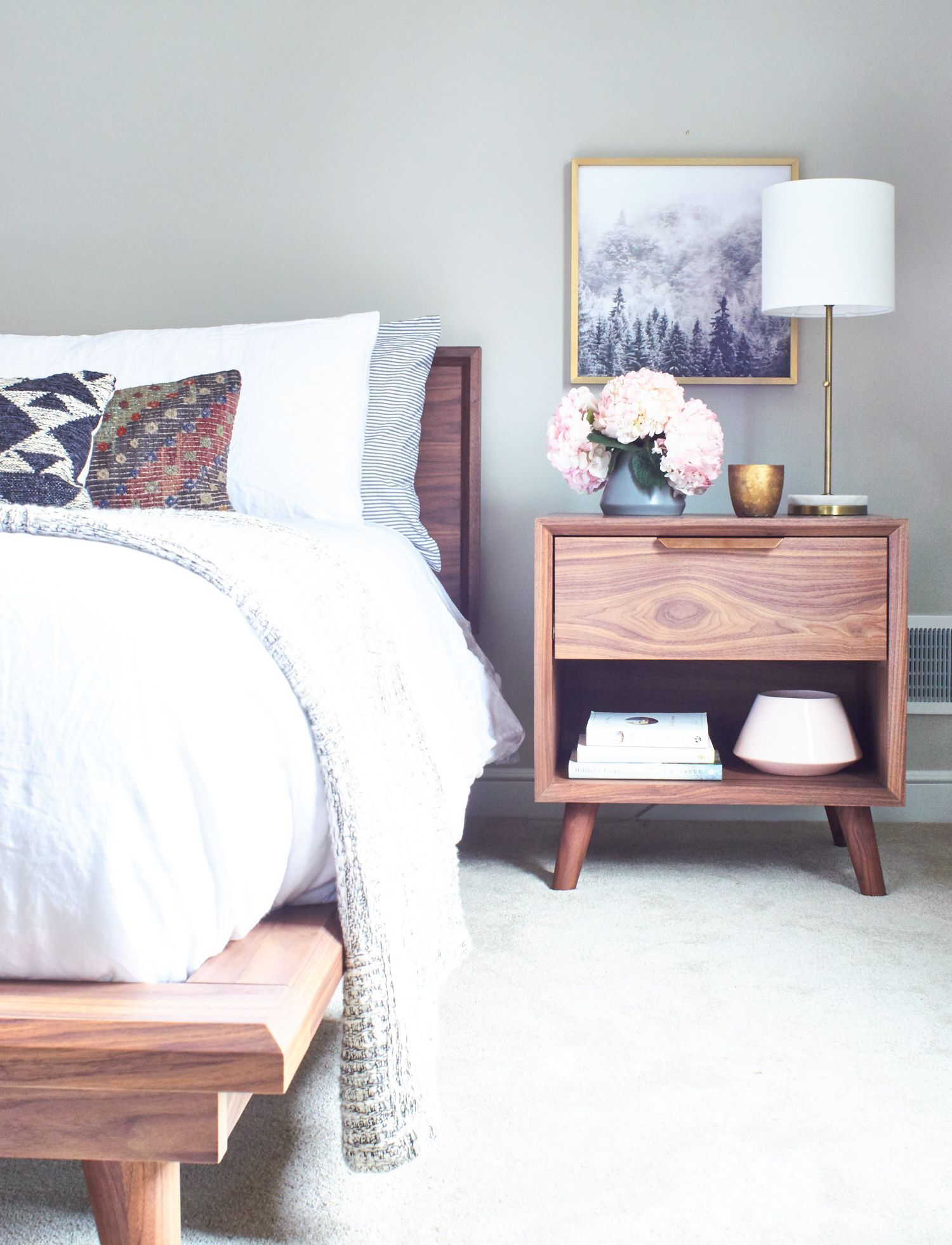 Attic Bedroom Tour | Take a Peek at this Blogger's Master Bedroom | Curbly
