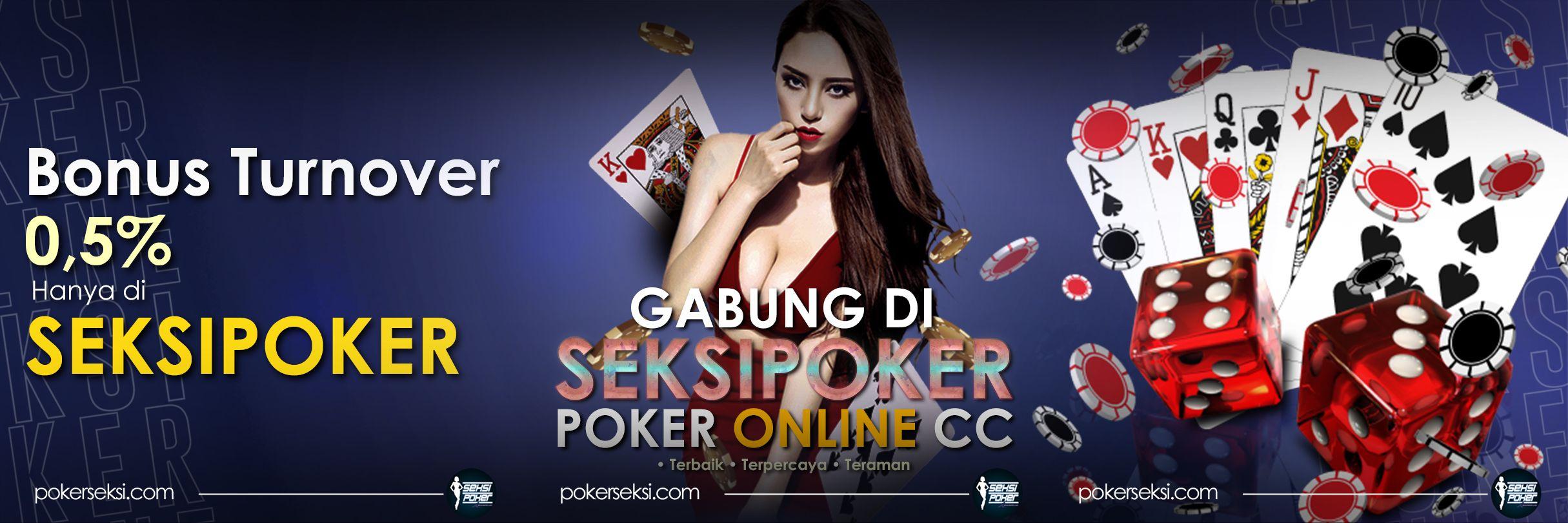 Poker Online CC Seksipoker Banner IDN Poker Terbaik dan