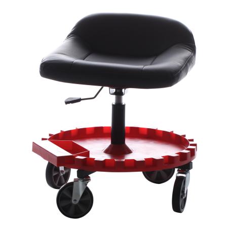 Seat W 5 Casters Walmart Com Work Chair Mechanics Furniture Garage Stool