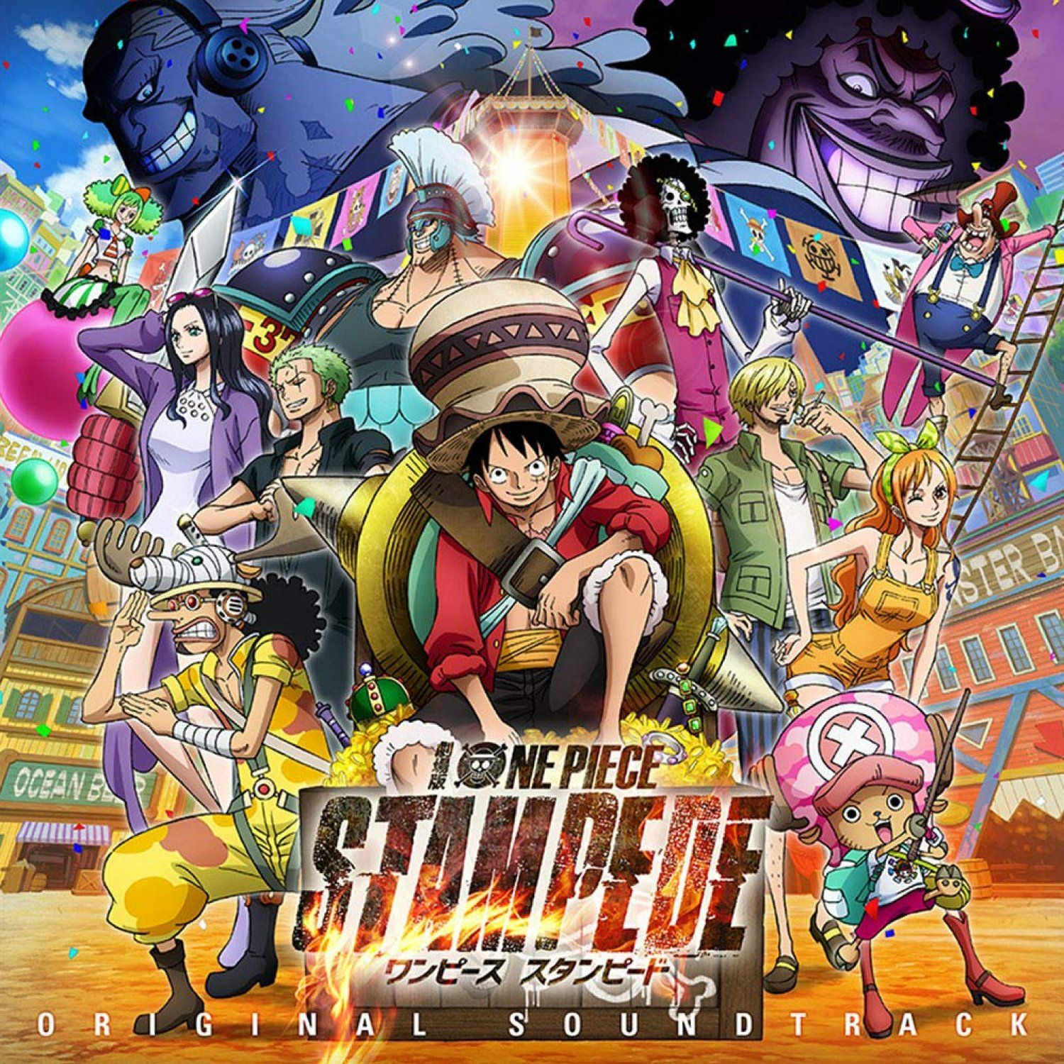 One Piece Stampede Original Soundtrack (With images) One
