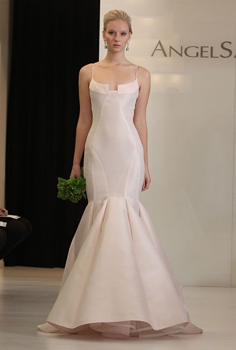 Angel Sanchez - Fall 2012 | Angel sanchez, Mermaid wedding dresses ...