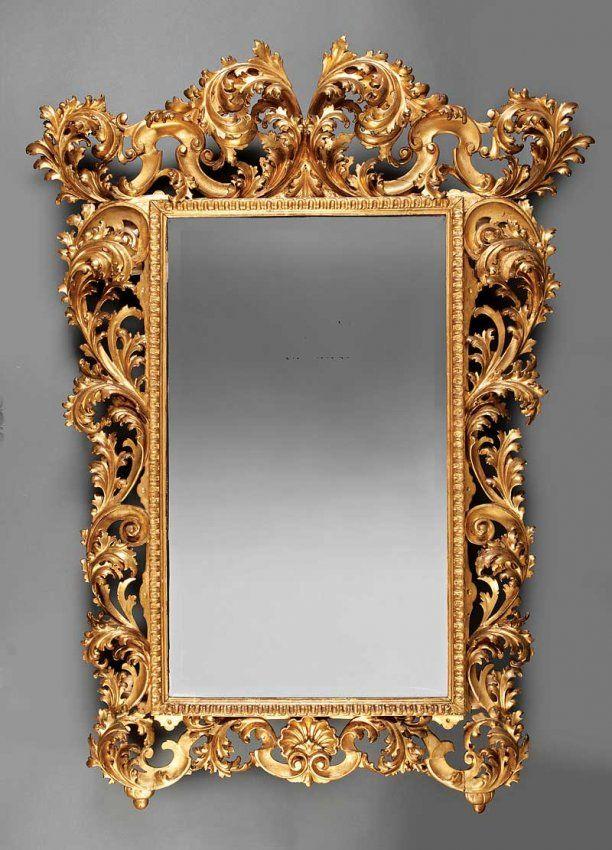 Espejo rococó italiano altamente tallada -Siglo 19 | cadre ITALIA ...