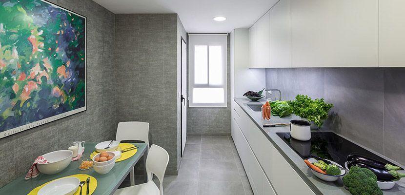 Cómo decorar las cocinas pequeñas alargadas -   wwwdecoora