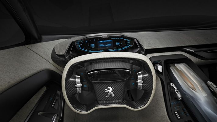 *The Club of Cars*: Peugeot Onyx Concept 2012 - 03