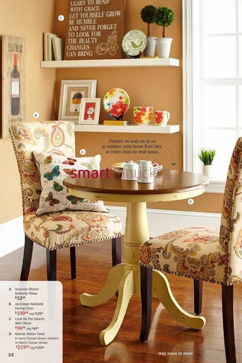 Pier 1 Imports Flyer February 3 To March 2 Kitchen Bistro Set Small Tables