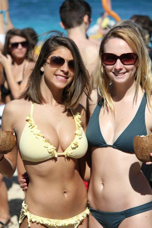 Turns Amateur candid bikini beach what that