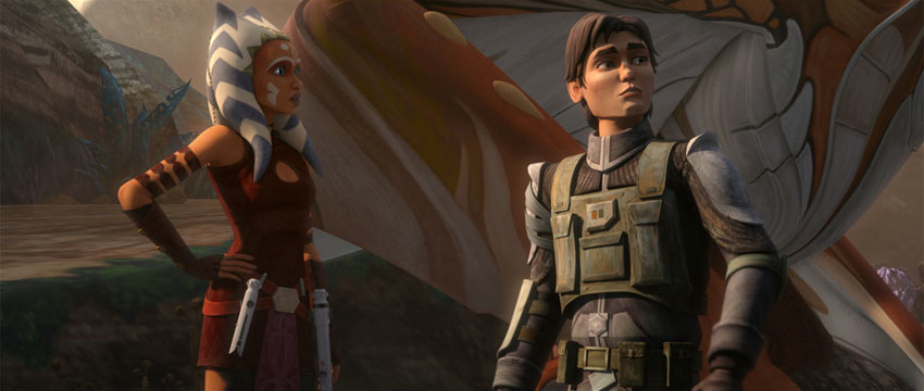 Ahsoka Tano & Lux Bonteri   Star Wars: The Clone Wars. I really hope these two are in rebels together..…   Star wars clone wars, Star wars characters, Star wars art