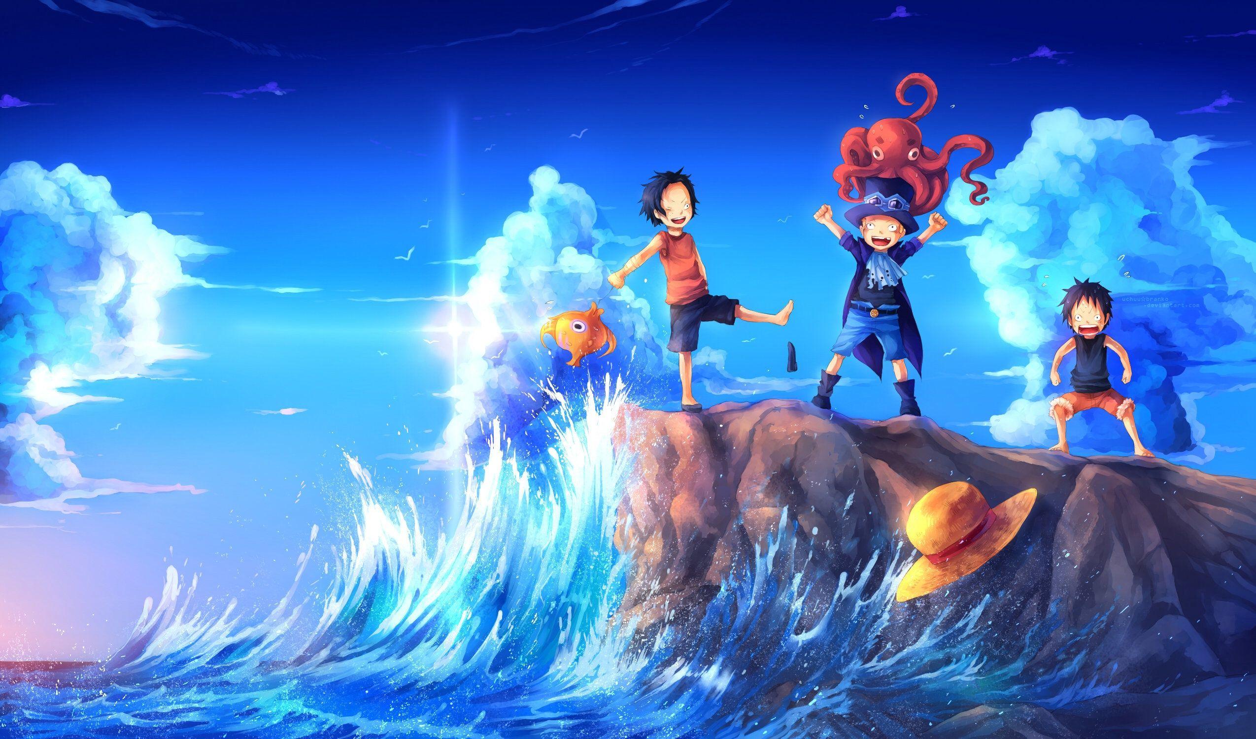 Luffy Ace And Sabo 2 Fonds D Ecran Arrieres Plan 2549x1500 Id 605588 Ace One Piece Fond D Ecran Dessin Fond D Ecran Ordinateur