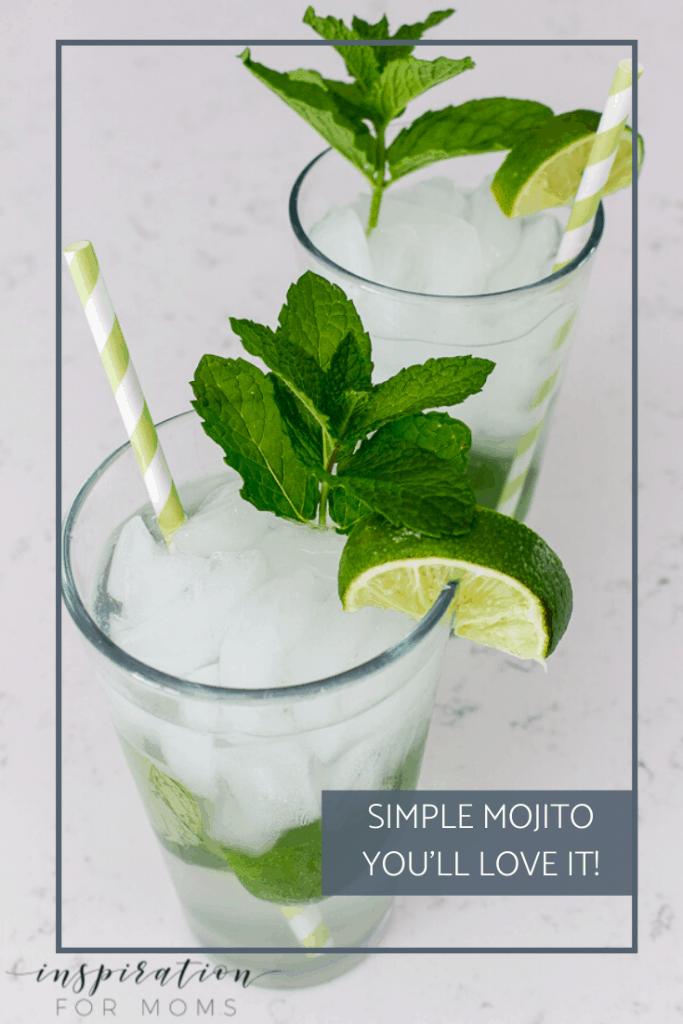 Simple Mojito Recipe Mojito Easy Summer Cocktail Recipes Fun Cocktails
