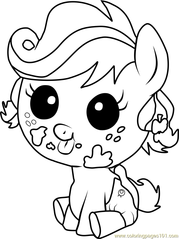 Applejack Infant Coloring Page Free My Little Pony Coloring Pages Dolphin Coloring Pages Printable Coloring Pages