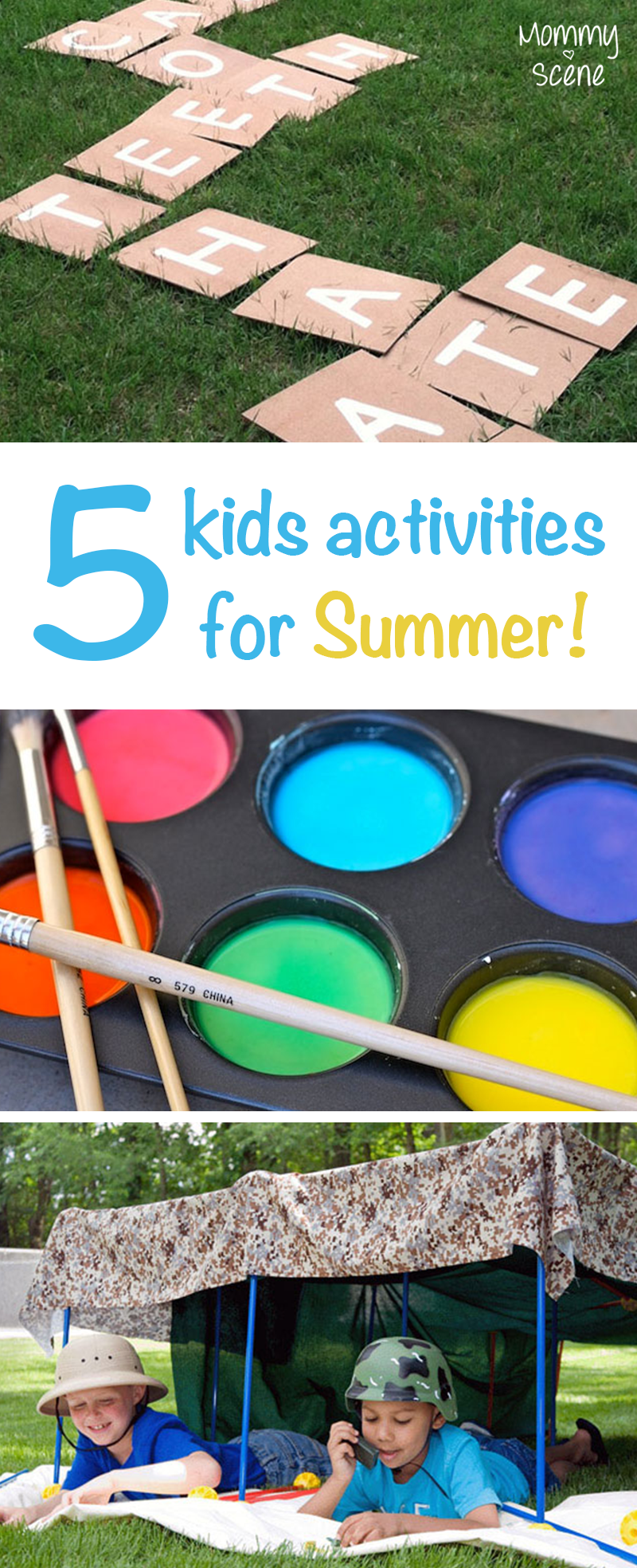 5 summer activities for kids budgeting activities and craft