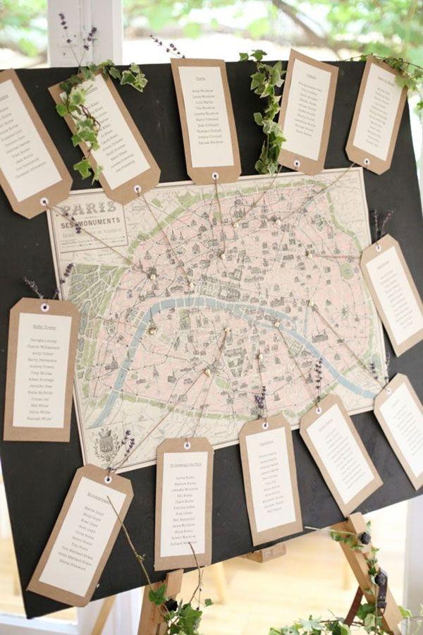 a la recherche d 39 un plan de table original pinterest mariage theme voyage plans de table et. Black Bedroom Furniture Sets. Home Design Ideas
