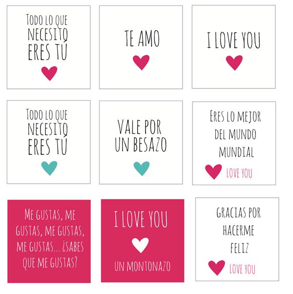 Corazon De Papel Y Caja Sorpresa Imprimibles De Amor Tarjetas De Amor Dia De San Valentin