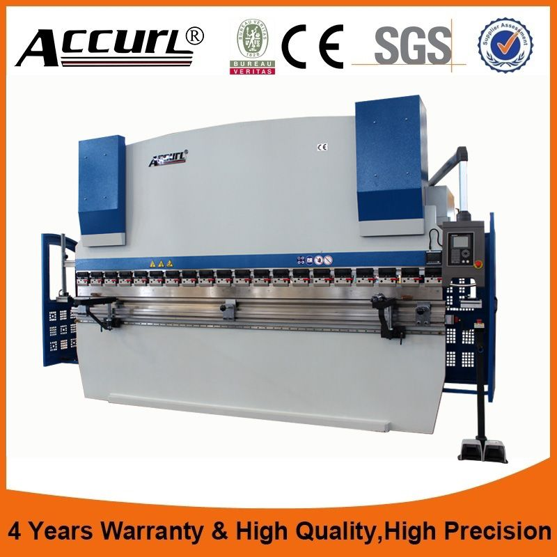 4mm Hydraulic Plate Bending Machine 10ft Sheet Metal Bender Cnc Press Brake 3 Meters 80 Tons Metal Plate Cnc Bending Machine Press Brake Machine Cnc Press Brake Stainless Steel Sheet