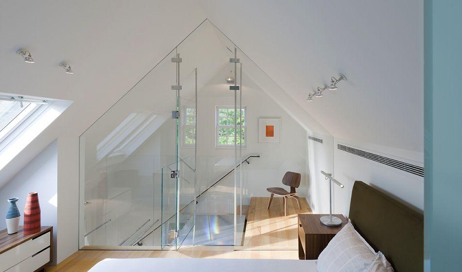 Transparent Attic Wood Inspiration: Restored Historic Home By Robert M.  Gurney Architect