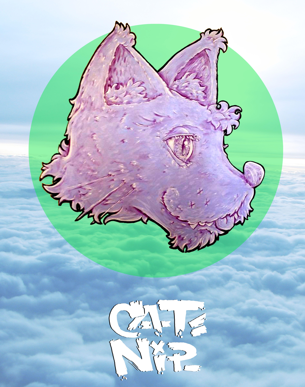 Designs by artist, Catnip @lookupcatnip on instagram