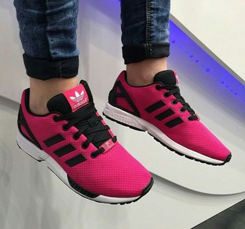 huge selection of 41dca 258d9 ADIDASZXFLUX❤ adidas zx flux adidas  pink. Find this Pin and more on Shoes  ...