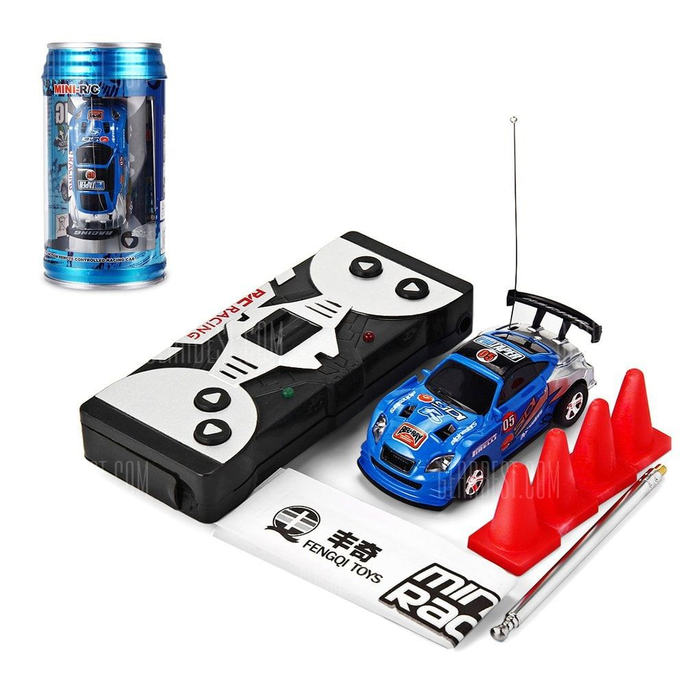 B toys cars     Coke Can Mini RC Racing Car Kids Gift for