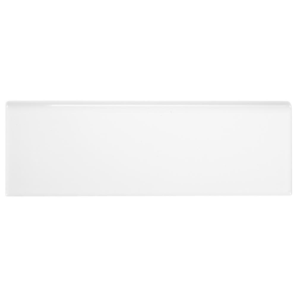 Daltile Finesse Bright White 2 In X 6 In Ceramic