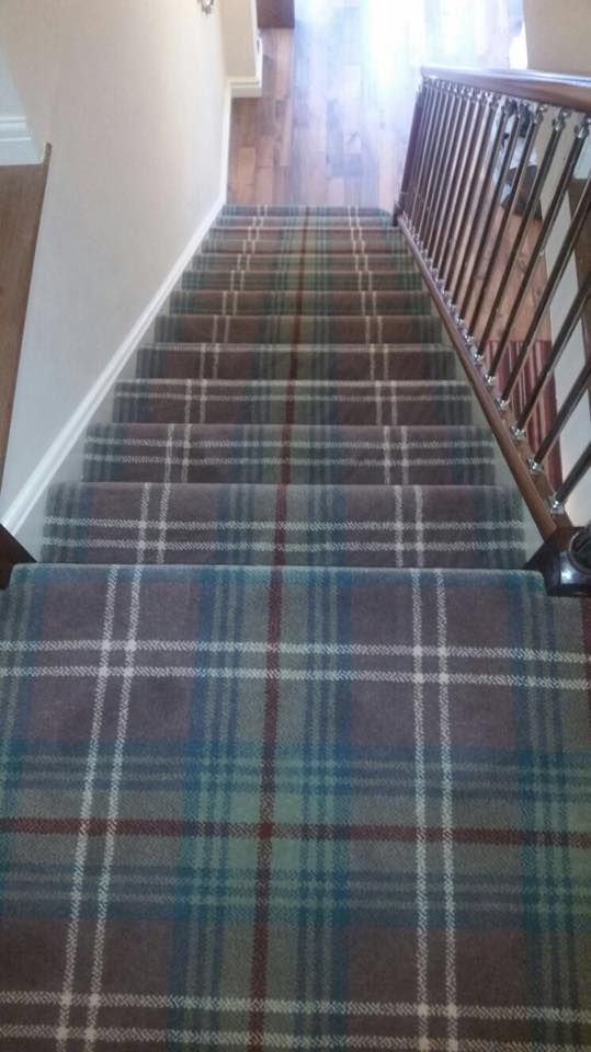 Choose A Carpet Tartan Stair Carpet Carpet Stairs