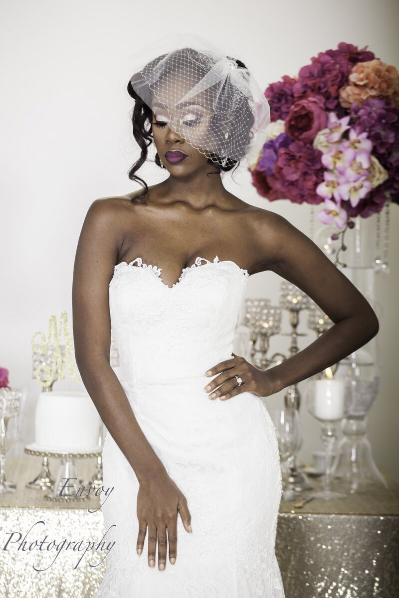 Modern Ghanaian Wedding Inspiration Black Wedding Hairstyles