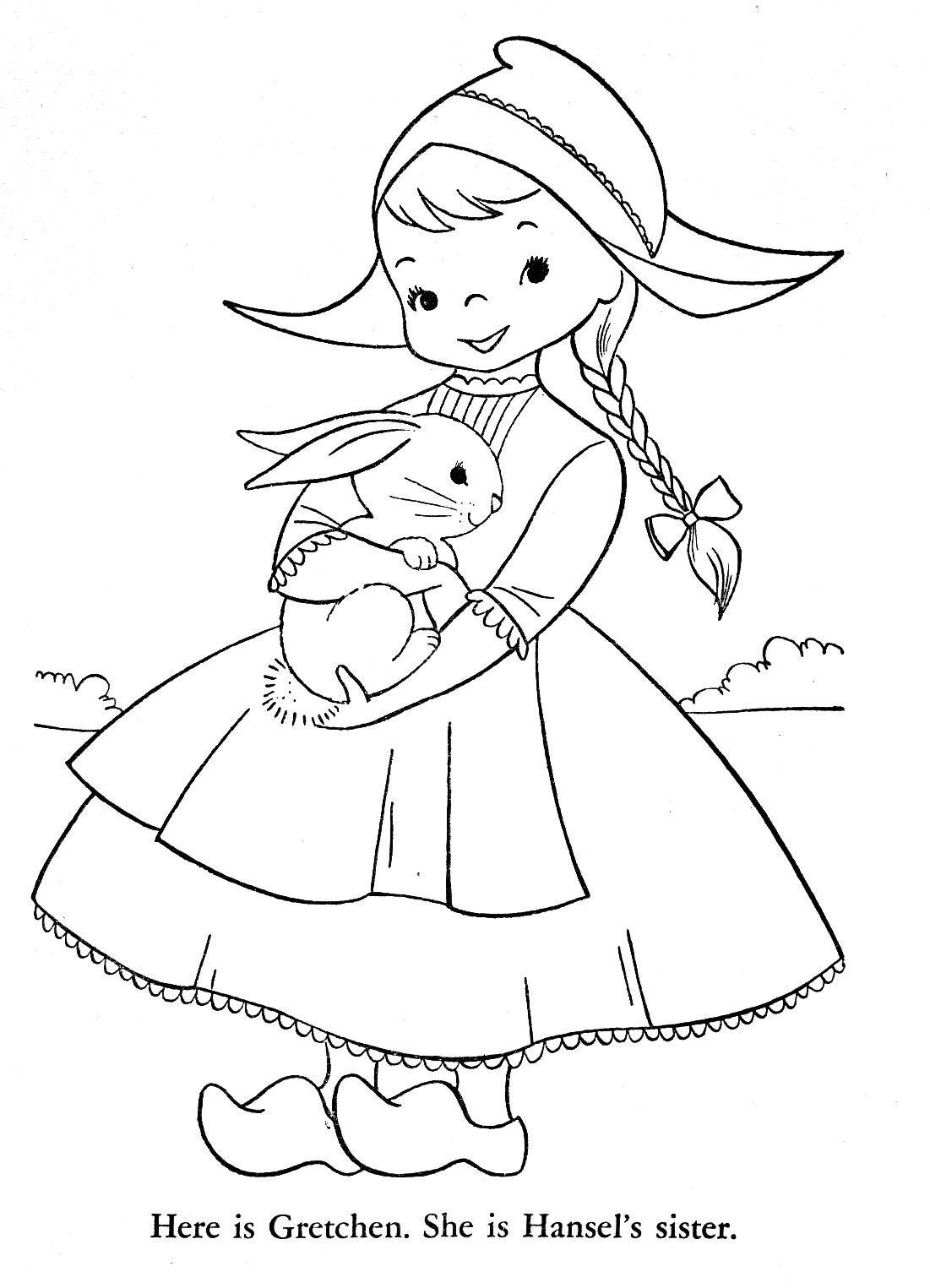 Children Of Other Lands Coloring Book Q Is For