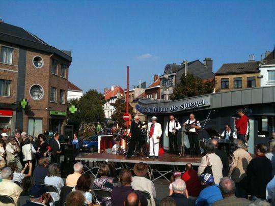 Koningin Astridplein / Place Reine Astrid in Jette, Brussels Hoofdstedelijk Gewest