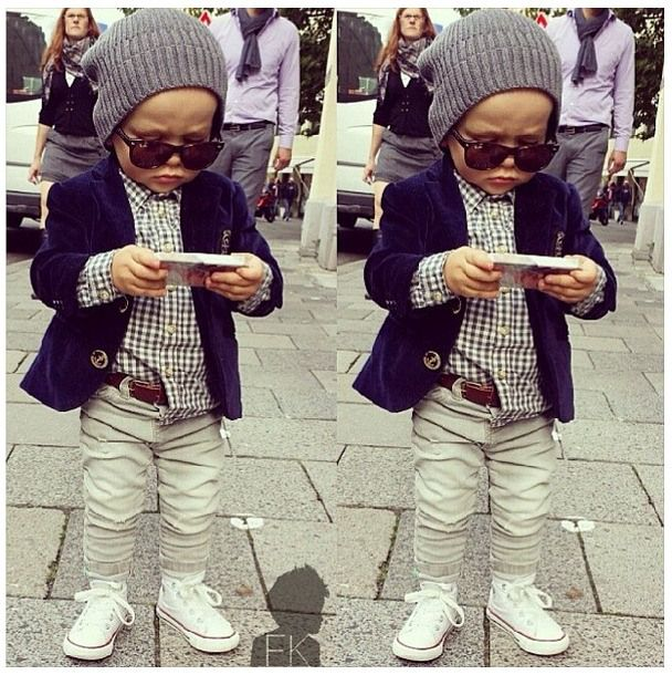 checks his phone…and looksbetter