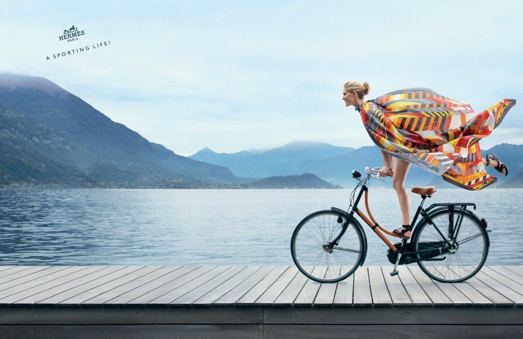 via Running in Platforms: Hermes campaign | Summer campaign