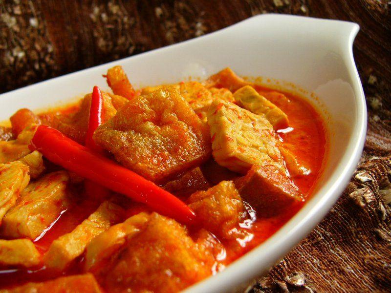 Resep Sambal Goreng Tahu Krecek Semarang Resep Makan Siang Sehat Resep Masakan Indonesia
