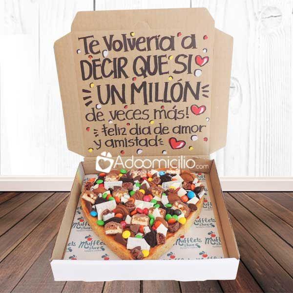 regalos amor y amistad colombia galleta sorpresa 3 porciones desayunos pinterest geschenke. Black Bedroom Furniture Sets. Home Design Ideas