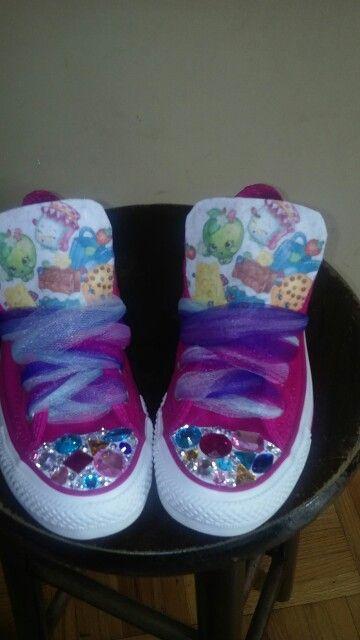 Shopkins shoes, Rhinestone shoes