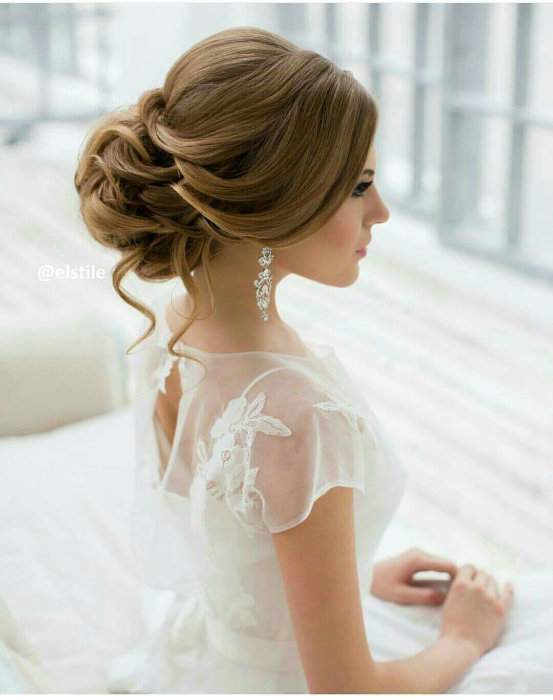 Pin by Eveliz Rivera - Cosme on Wedding Hair | Pinterest | Hair ...