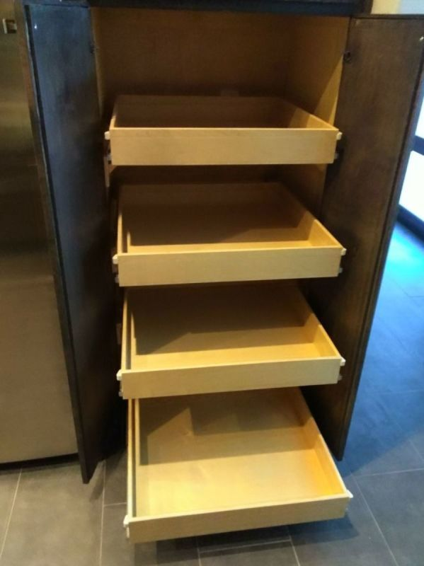 EZ Reach Cabinet Systems   Diy pantry, New kitchen cabinets
