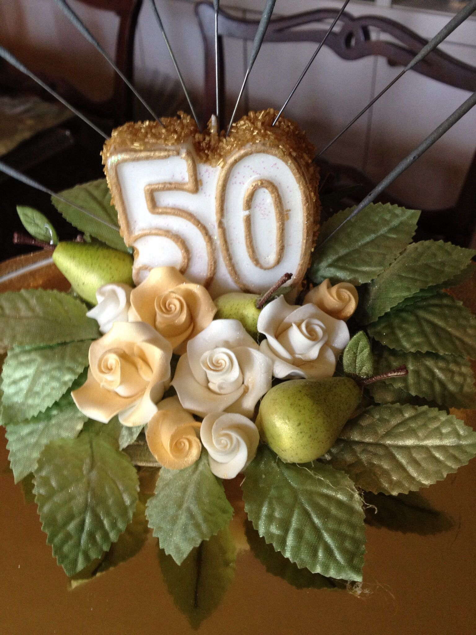 10++ 50th anniversary cake toppers trends