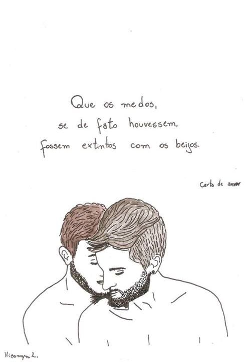 love couple watercolor casal gay amor aquarela   Fine arts in 2018 ...