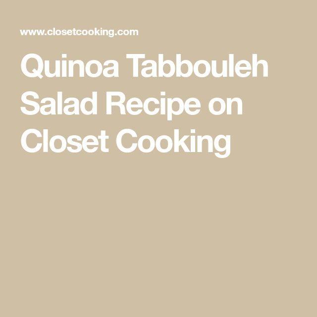 Quinoa Tabouleh-Salat -
