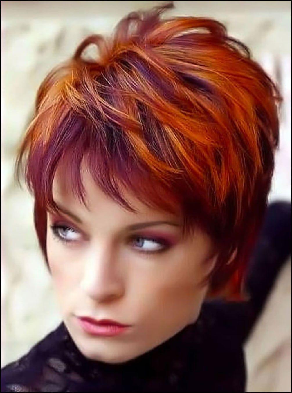 Beste Kurzhaarfrisuren Rot 22 Frisuren Kurze Haare Rot Kurzhaarfrisuren Frisur Rote Haare