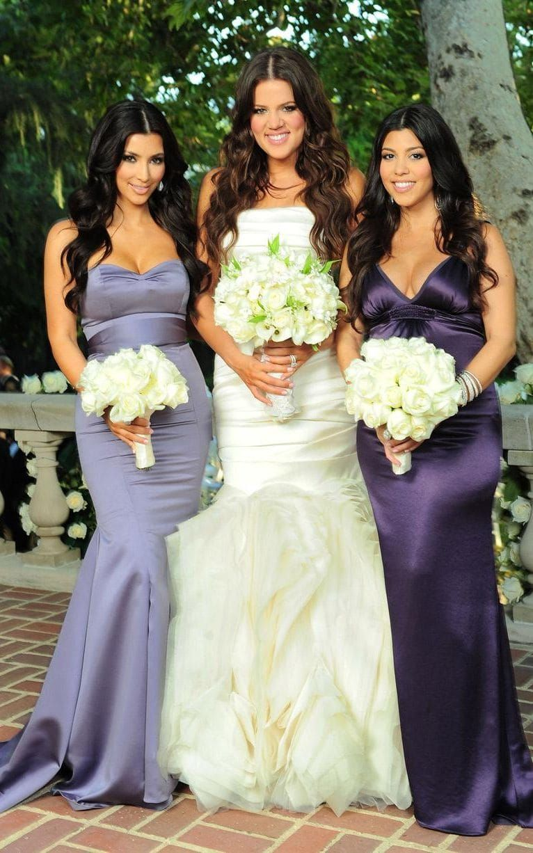 kim & kourtney @ khloe kardashian wedding | kim kardashian 3