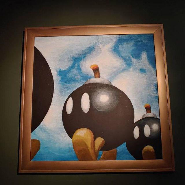 Super Mario 64 Paintings made by Canvas64 - #64 #90s #art #etsy #games #gaming #geek #illustration #mario #n64 #nineties #nintendo #nostalgia #nostalgic #painting #retro #retrogaming #Super #video