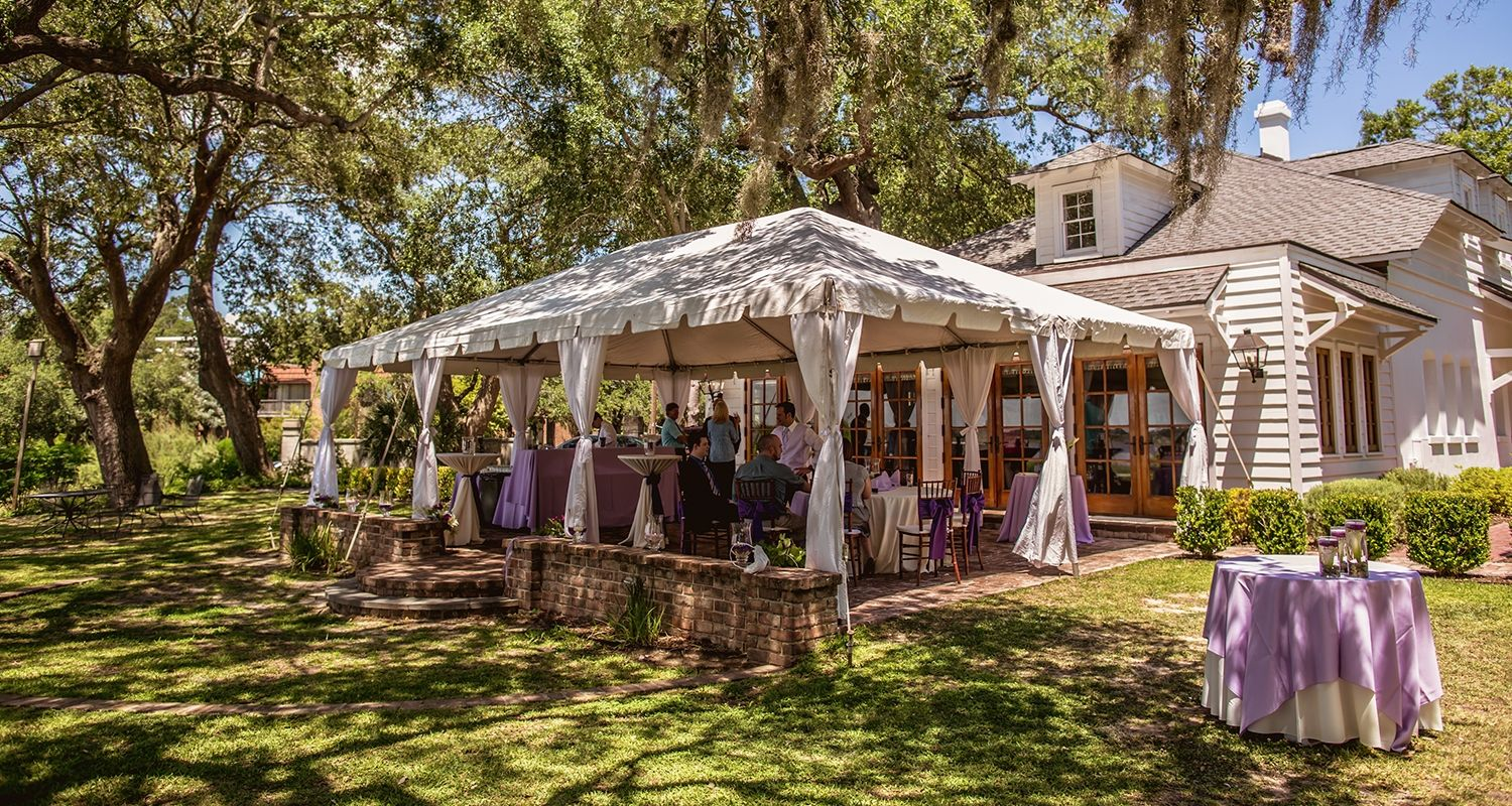 Distinctive Outdoor Wedding Venues In Downtown Charleston Sc The River House