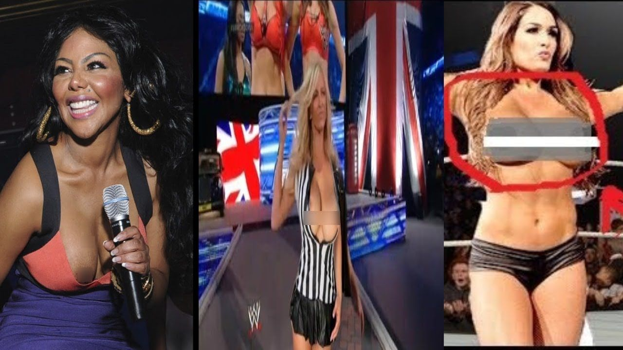 Top  Shocking Wwe Wardrobe Malfunction Wwe Hot Divas