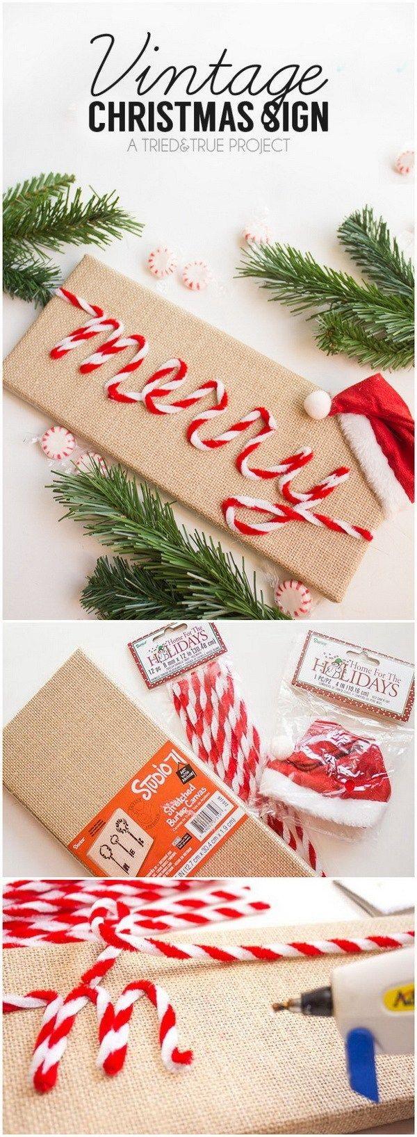 70+ DIY Dollar Store Christmas Decor Ideas #dollarstores