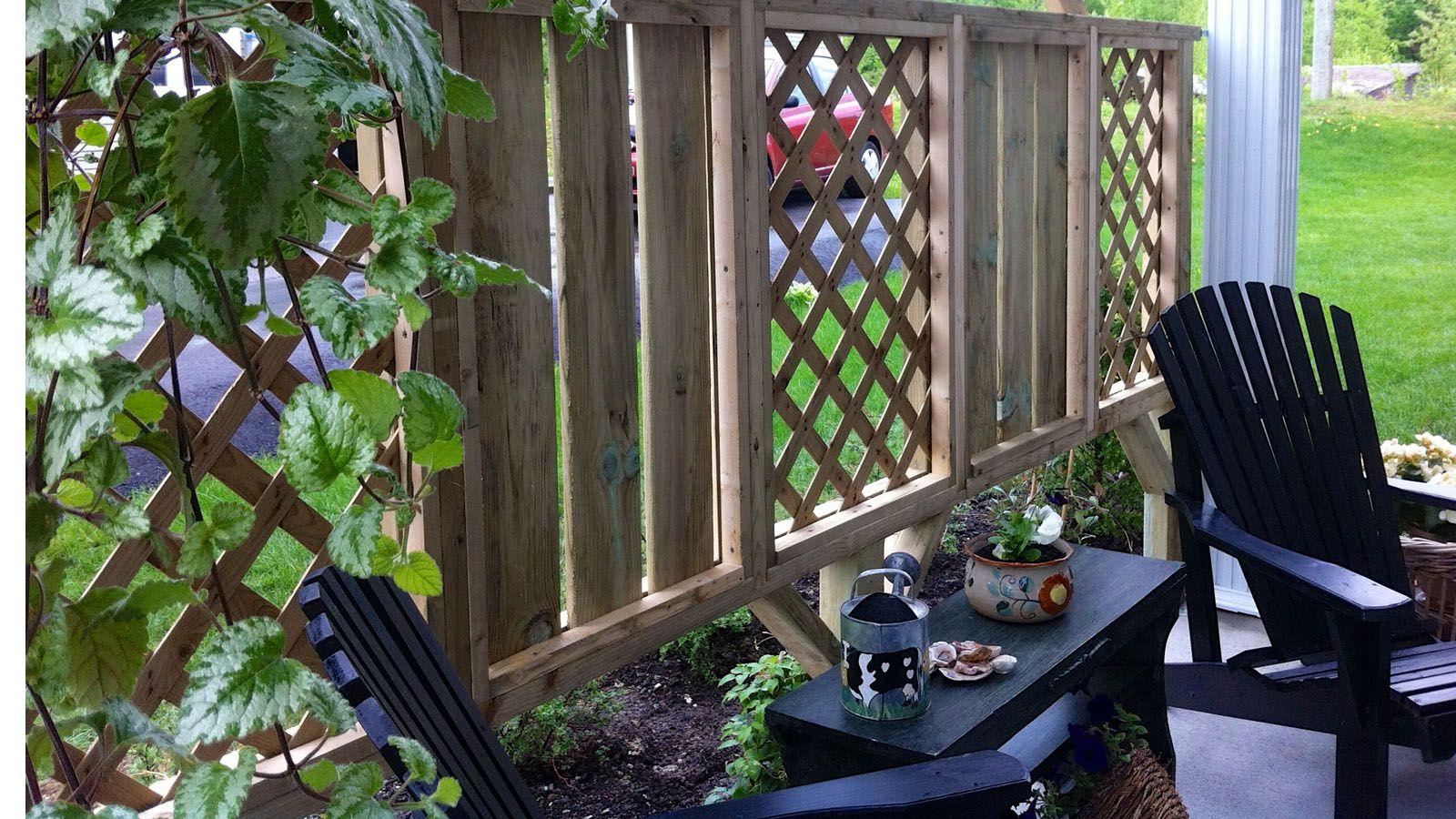 matériaux aménagements extérieurs - jardin de pierre | Écran d
