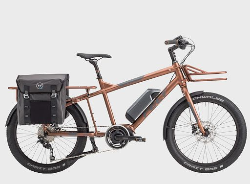 Felt Tote M Electric Cargo Bicycle Carries A High Capacity Cargo Bike Electric Cargo Bike Bicycle