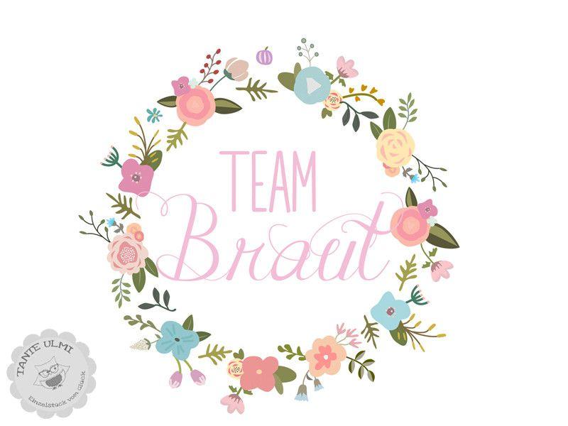 Weiteres  Bgelbild Team BrautJGA  ein Designerstck von TanteUlmi bei DaWanda